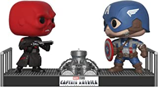 Funko Pop Movie Moments: Marvel-Captain America and Red Skull Collectible Figure, Multicolor