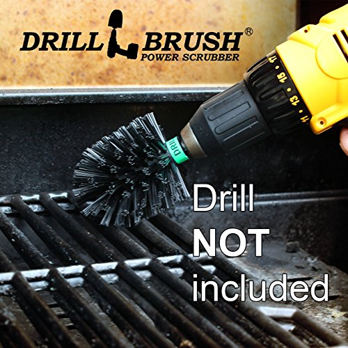 Drillbrush Mini Size Nylon Bristle Motorized Spinning Bat...