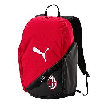 Puma AC Milan Liga Backpack Mochila, Tango Red de Puma Black, UA: Amazon.es: Deportes y aire libre