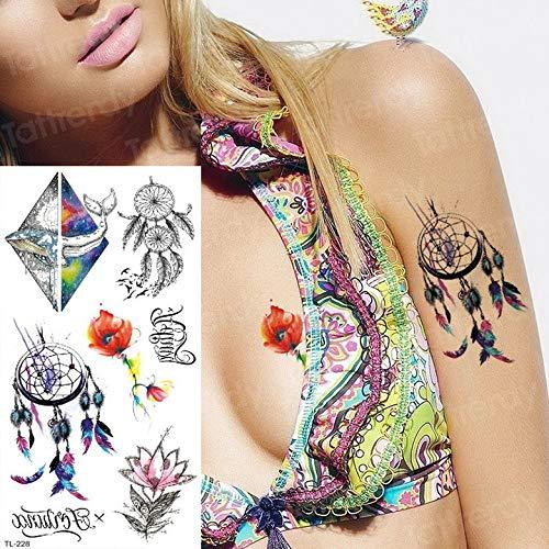 tzxdbh 7pcs-Tatuaje Temporal Mangas Tatuajes Brazo delfín mar ...