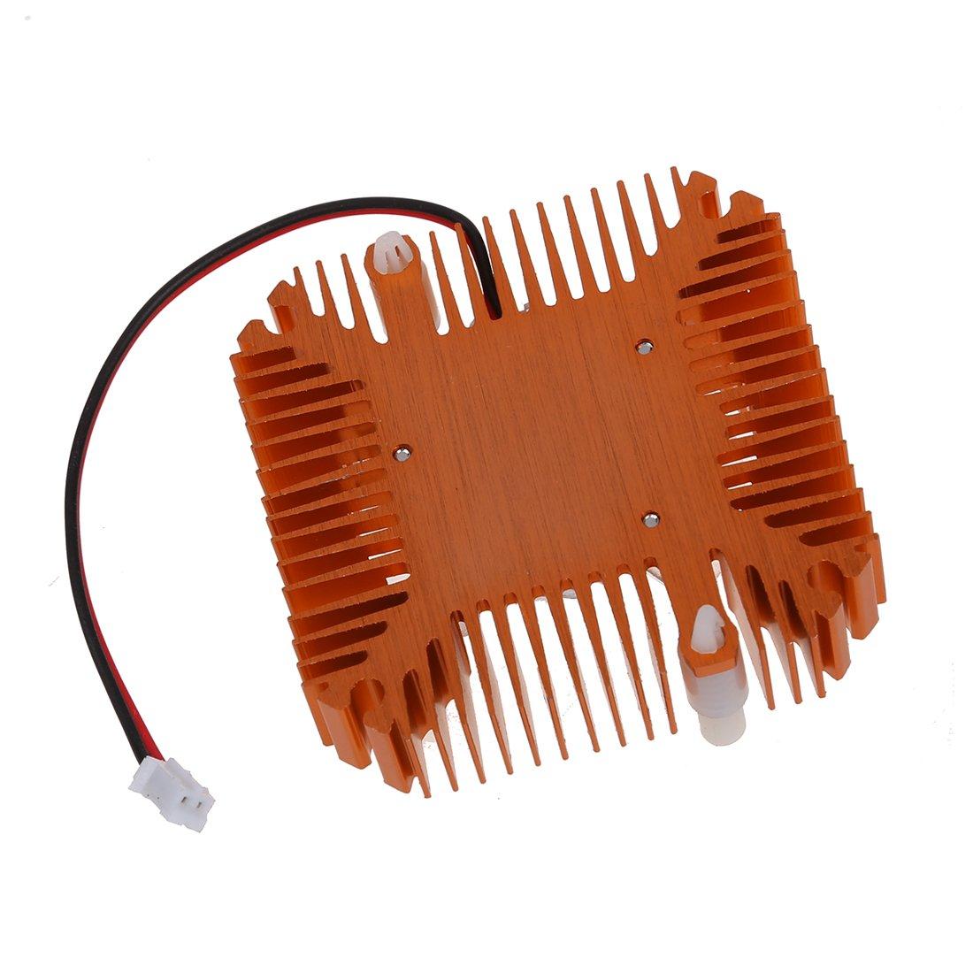 SODIAL PC Ordinateur portable CPU VGA Carte video 55mm Ventilateur Refroidisseur Radiateur R