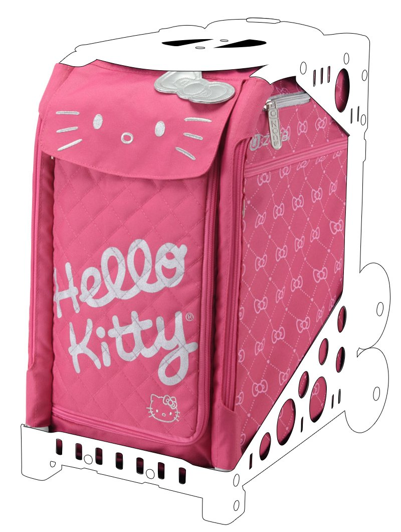 ZUCA Hello Kitty Sport Insert Bags (Frames Sold Separately) - Choose Your Design! (Pink Luxe)