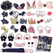 MEISO Hair Clip Clip Baby Hair Bow-Knot Hair Set Assorted Hair Accessories