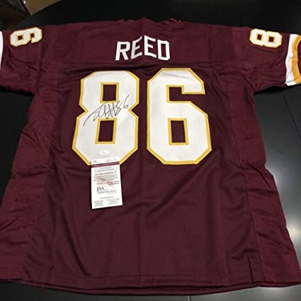 buy popular 64f72 01dbe Jordan Reed Autographed Signed Authentic Washington Redskins ...