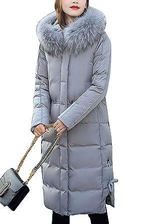 Doudoune Manteau Femme Longues Fashion Elégante Parka Hiver
