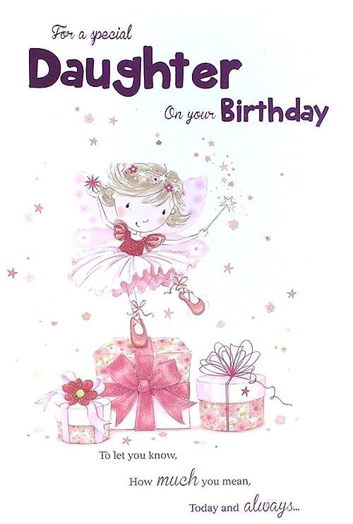 Para una hija especial en su tarjeta del feliz cumpleaños ...