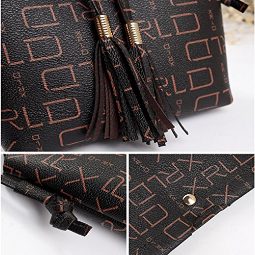 Women Bag Bag Coin Bag Embossing Letter Phone Bag Crossbody Shoulder Print Bag Messenger qpATZq
