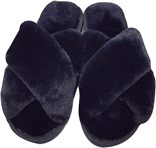 Cattior Mens Comfort Pleather Slipper Shoes House Indoor Slippers