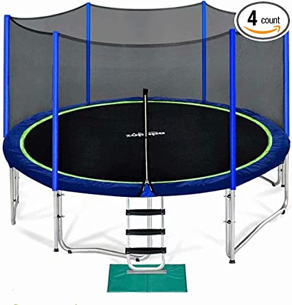 Zupapa Gymnastics Trampoline for Kids and Adults - The Best Overall