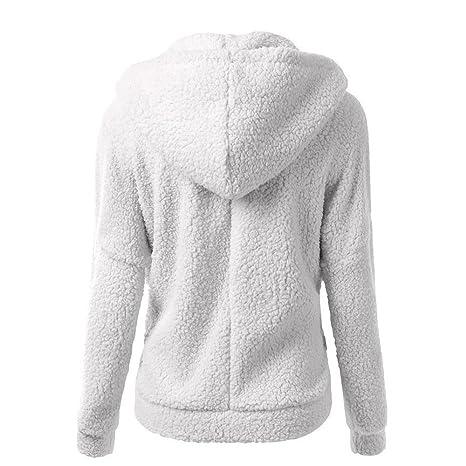 VJGOAL Mujeres suéter de Moda Casual Abrigo de Invierno Cálido de ...