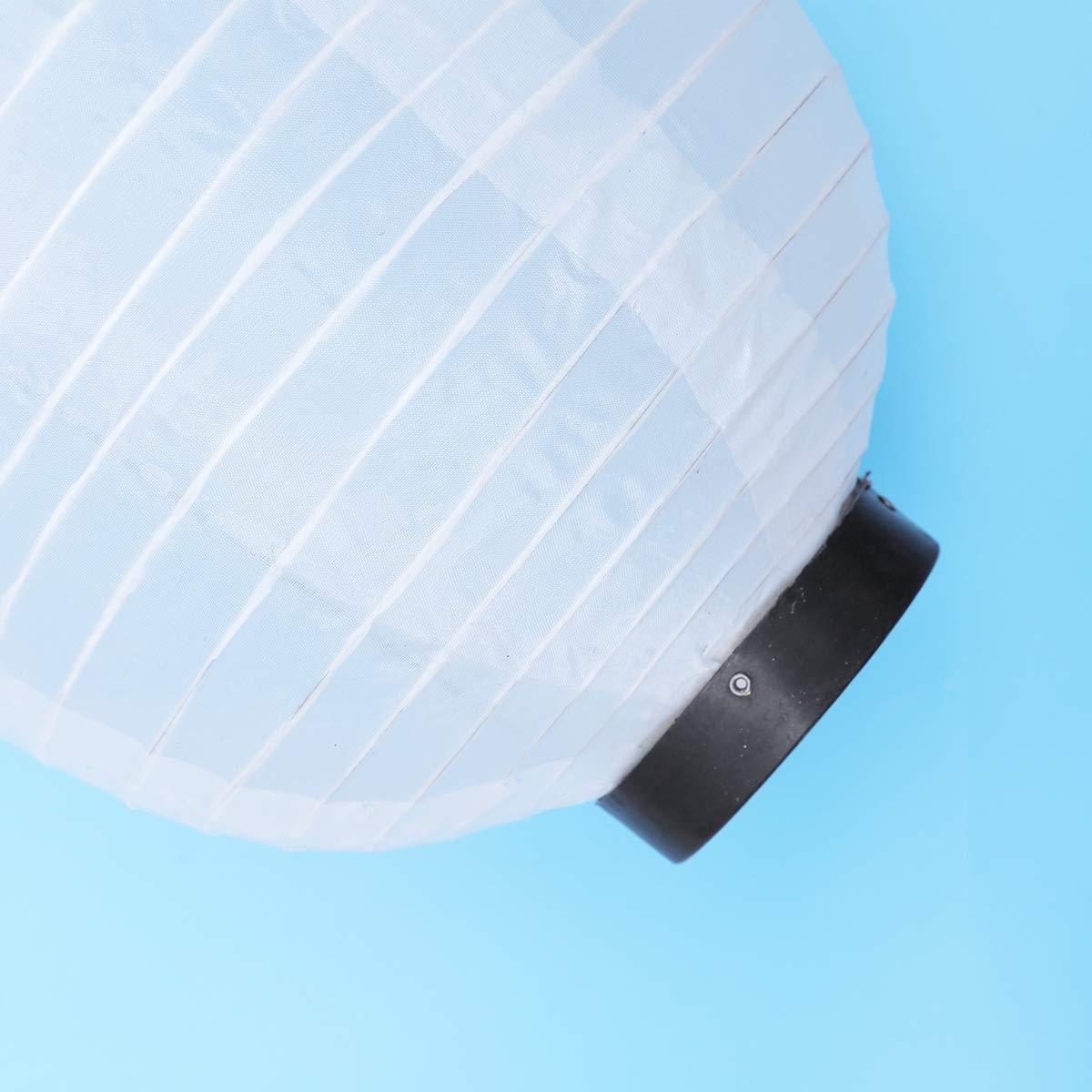 Lanterne di carta di stile giapponese che piegano le lanterne ovali decorative che appendono gli ornamenti