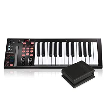 Amazon com: Icon Pro Audio Ikeyboard 3S VST With Sustain