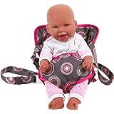 BAYER CHIC Le porte-bébé pour poupée accessoires pour poupée, gris