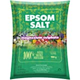 DIVINE TREE Epsom Salt Magnesium Sulfate for Speed Up Plant Growth Vegetables & Plants Nutrient - 900 Gm