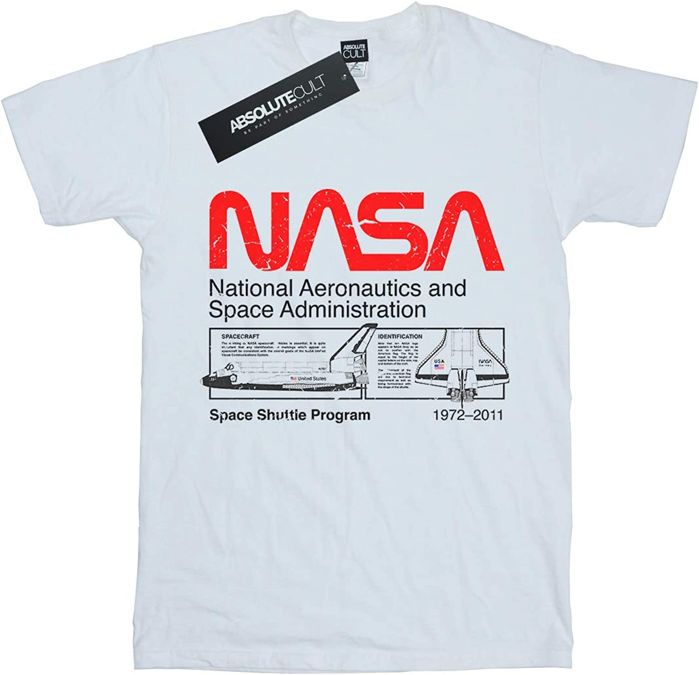 Absolute Cult NASA Girls I Need My Space T-Shirt