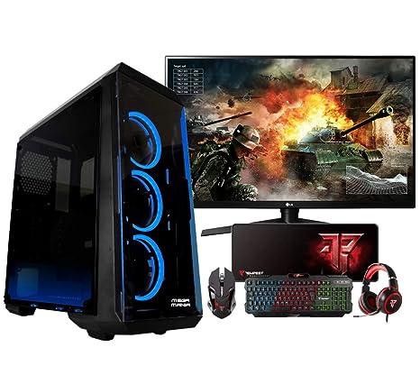 Megamania PC Gaming AMD Ryzen 5 3400G, Ordenador de ...