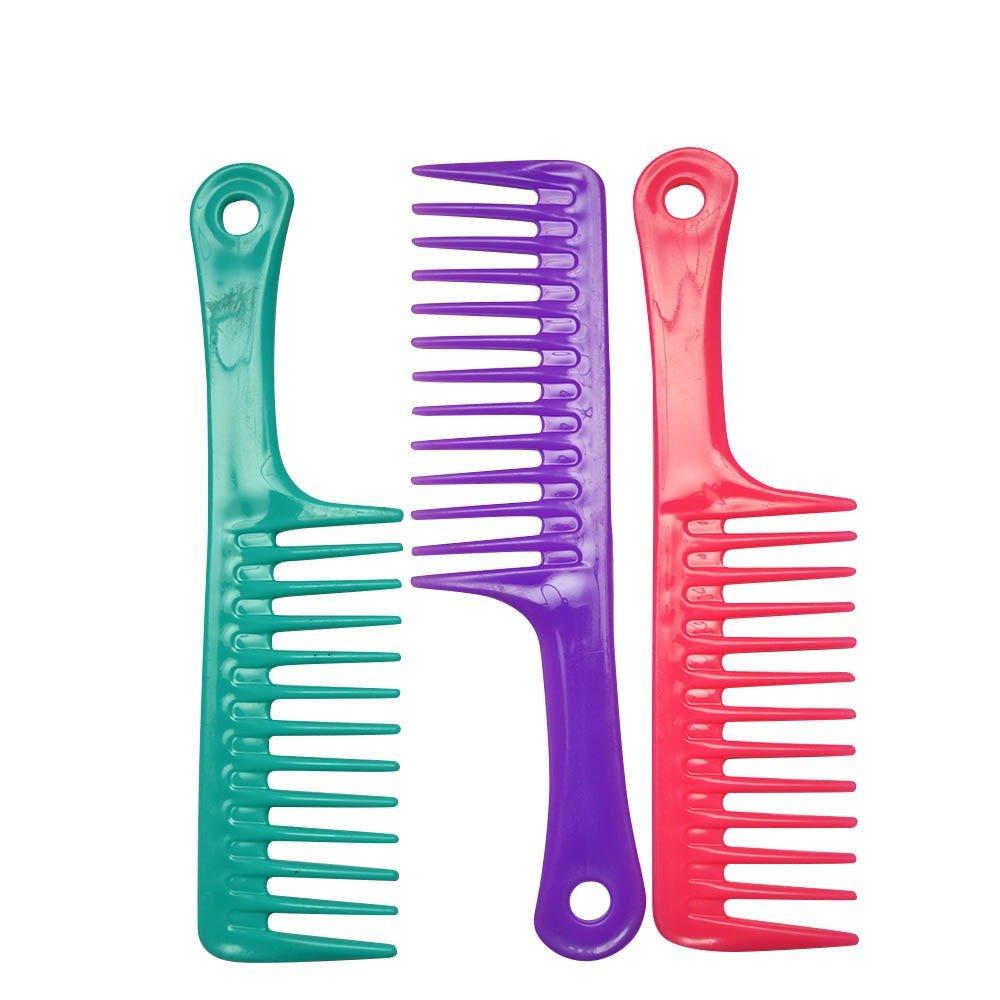 3pièces coloré Coiffure Peignes de coiffure Lot–Lots cadeaux de fête/Noël
