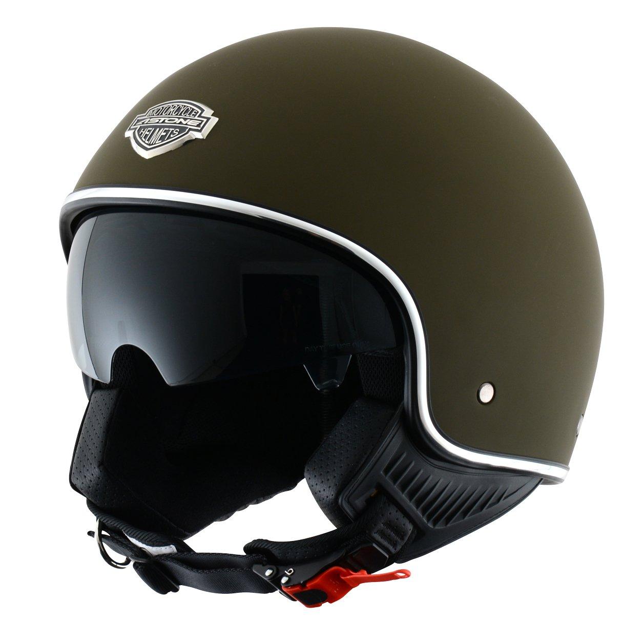Astone Helmets MINI66-MBKXL Casque Jet, Noir Mat, XL Aixstream Sport Trading
