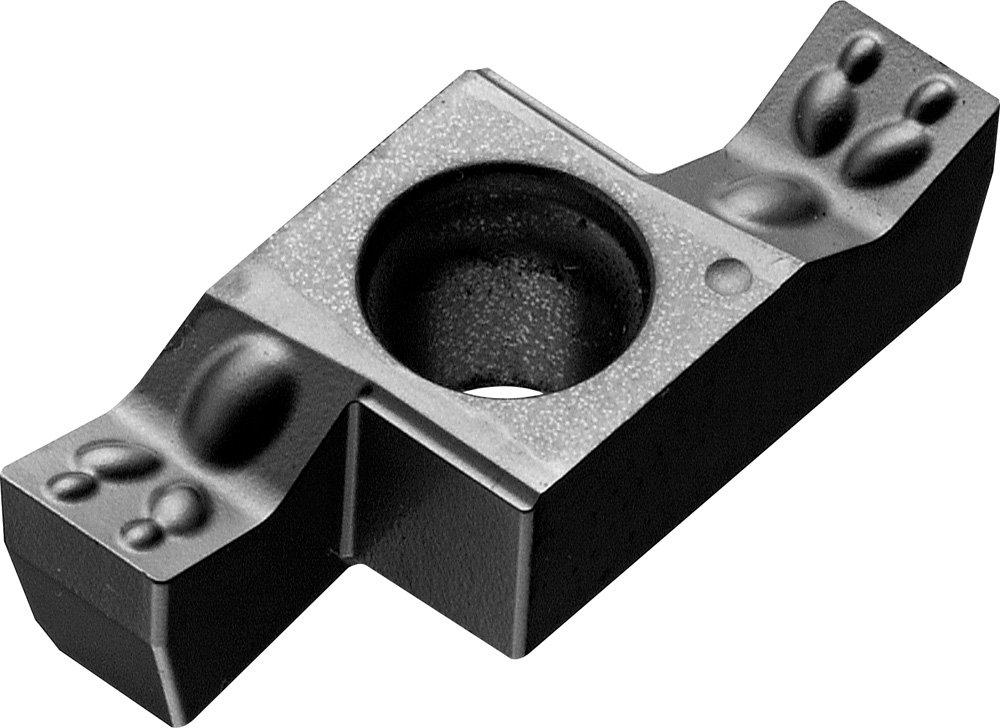 GE 0.2677 Length 2 Cutting Edges Megacoat 0.0906 Groove Width Right Hand 0.0079 Corner Radius KYOCERA GER230020DM PR1225 Internal Grooving Insert Carbide PR1225 Grade