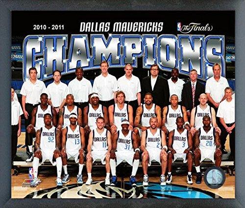 Dallas Team Mavericks Poster - Dallas Mavericks NBA Team Photo (Size: 17