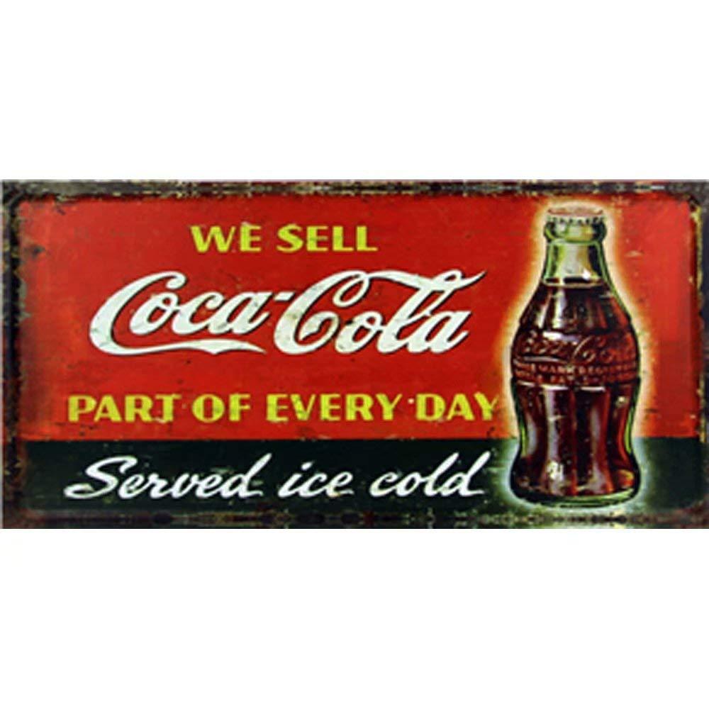 VACFIT We Sell Cocacola Parte de Cada día Servido Hielo frío ...