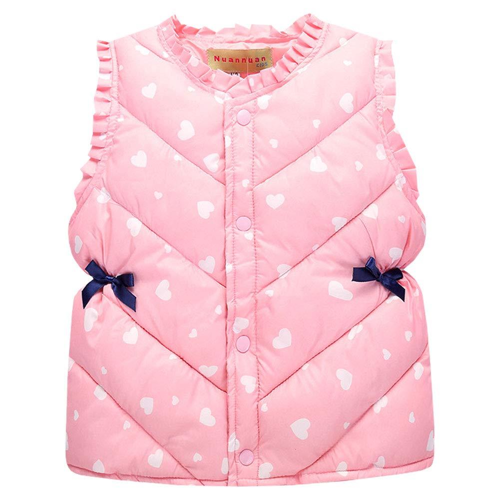 buy online c5df2 5bad6 LPATTERN Bambini bodywarm Gilet Bambino Ragazza Puffer Gilet ...