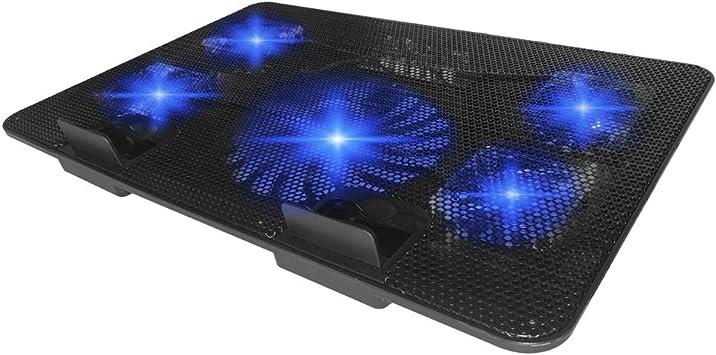 Lankerx - Almohadilla de refrigeración para portátil con 5 ...