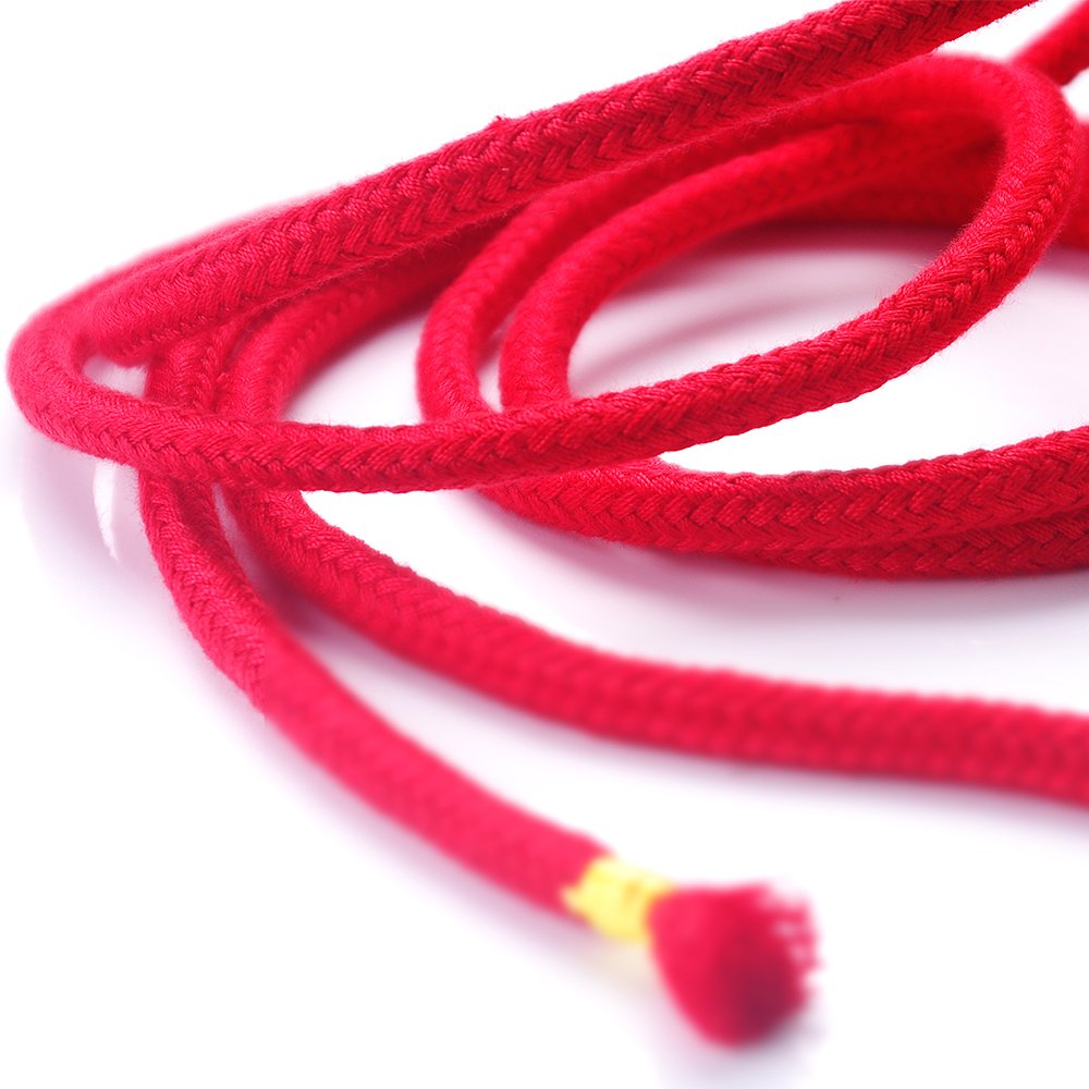 BONTIME All-Purpose Soft Cotton Rope - 32 Feet Length,1/3-Inch Diameter (Red,Black,Purple,Pack of 3) by BONTIME (Image #8)