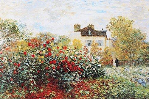 Buyartforless Garden' by Claude Monet Graphic Art on Wrapped Canvas (24x36)