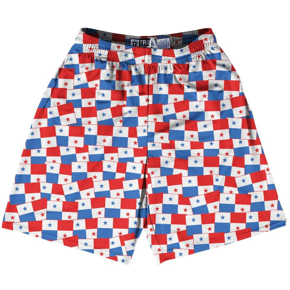 Tribe Panama Party Flags Lacrosse Shorts
