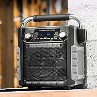 ION IPA81BK Job Rocker Max Bluetooth Speaker, Black