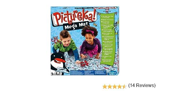 Juegos Infantiles Hasbro - Pictureka Mega Tapete, Juego de Habilidad (Hasbro A0887E24): Amazon.es: Juguetes y juegos