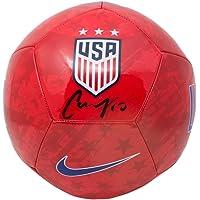 $141 » Carli Lloyd Signed Team USA Signed USA Red Nike Soccer Ball JSA