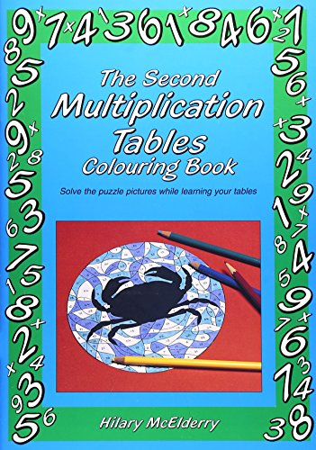 The Second Multiplication Tables Colouring Book: Solve the Puzzle Pictures While Learning Your Tables - Multiplication Tables Colouring Book