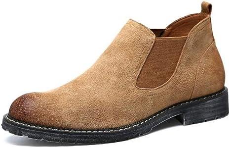 FHCGMX Botas de Tobillo para Hombre Zapatillas de chándal Tipo ...