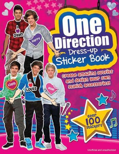 One Direction Dress up Sticker Book