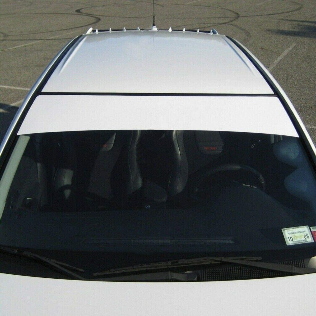 Blue LEXEN Sun Strip Visor Premium Vinyl Decal Windshield Uncut 60X12