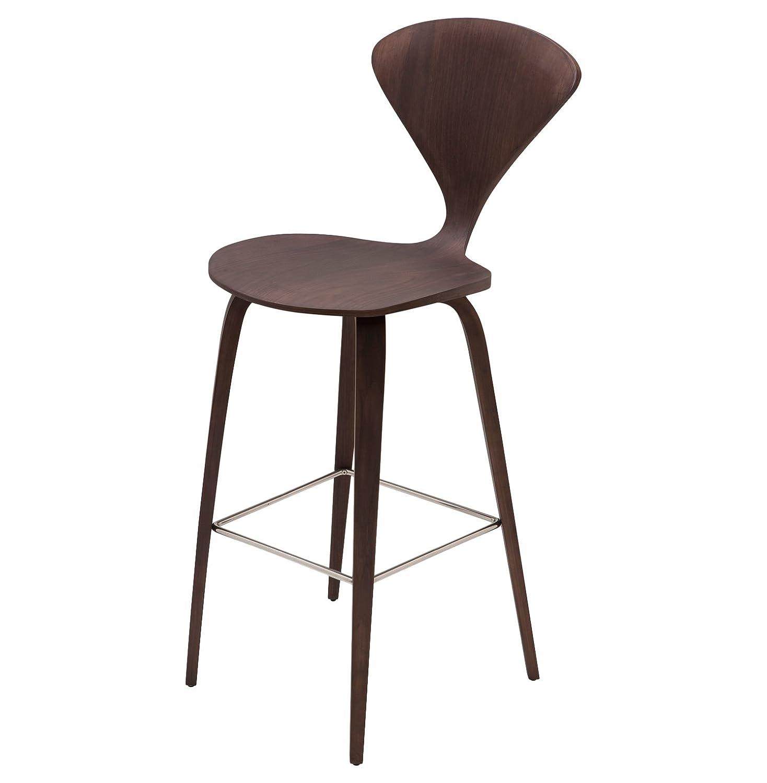 Enjoyable Amazon Com Kathy Kuo Home Regan American Dark Walnut Modern Machost Co Dining Chair Design Ideas Machostcouk