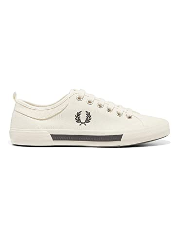 Fred Perry Horton Canvas Swow White B3190303, Deportivas: Amazon.es: Zapatos y complementos
