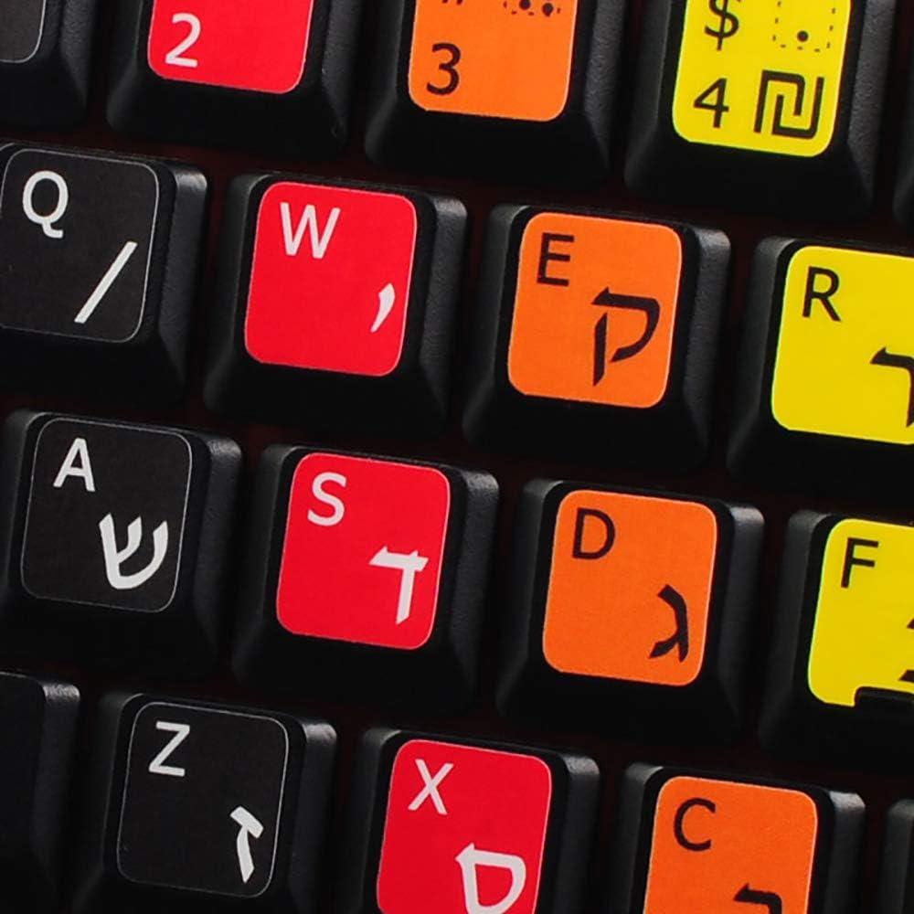 Aprendiendo hebreo con los nuevos adhesivos de teclado de ...