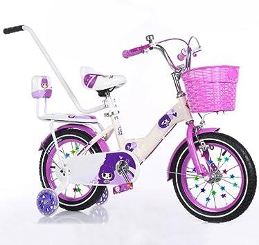 ZCRFY Bicicleta para Niños Niñas Bebé 2-10 Años Estudiantes ...