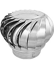PrimeMatik - Sombrero Extractor de Humos galvanizado Giratorio para Tubo de 300 mm de diámetro