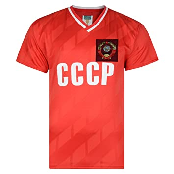 c2afc7d21 Official Retro CCCP 1986 World Cup Finals shirt 100% POLYESTER ...