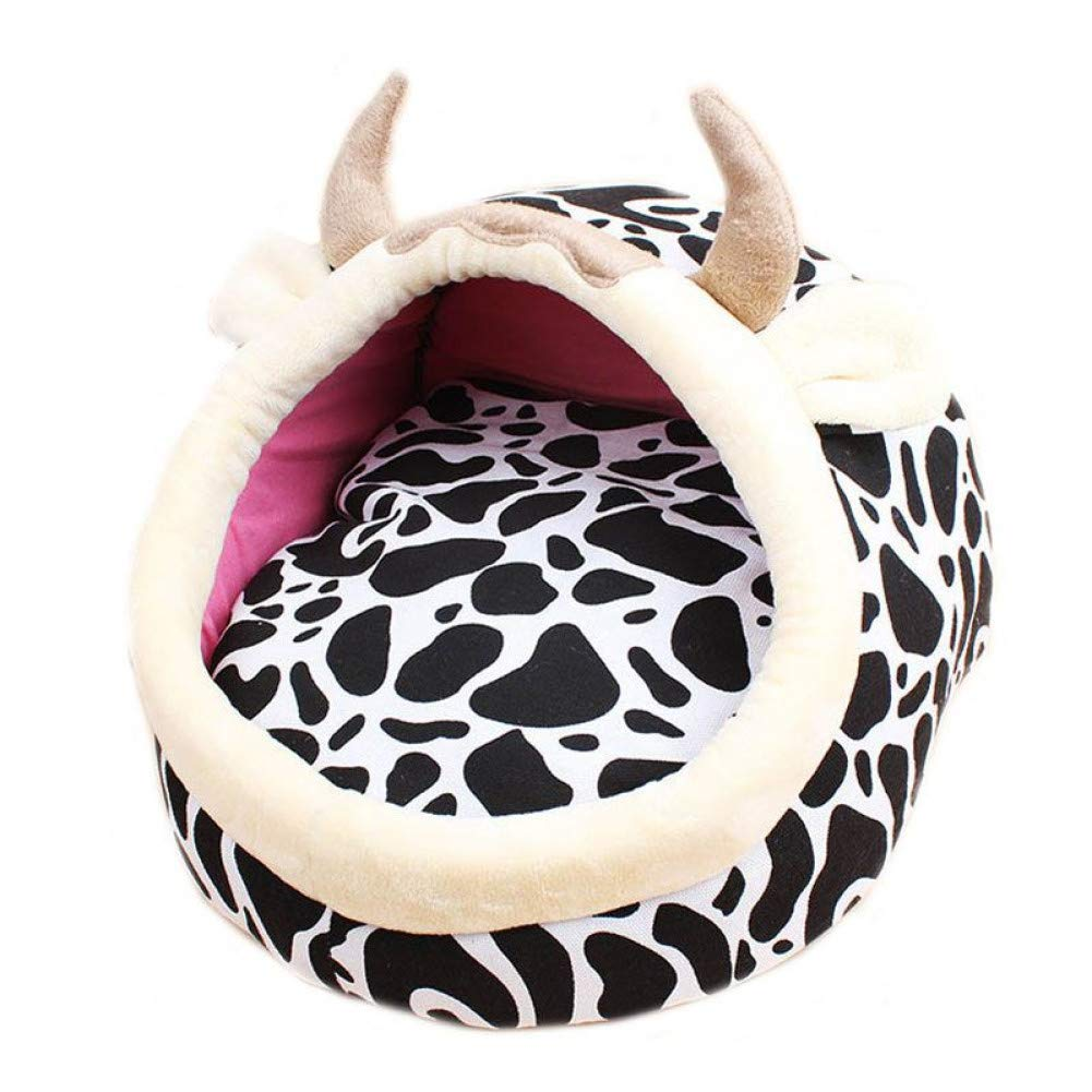 L WWSSXX Dog Bed House Warm Cat Beds Sponge Padded Puppy Sofa