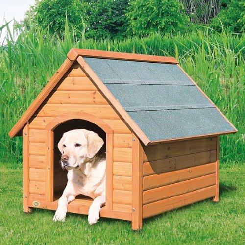 Hundehütte Komfort mit Satteldach - Größe L