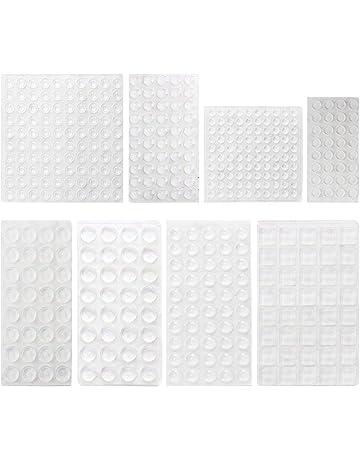 Lagrimas Silicona HO2NLE 436 Piezas Topes Adhesivos Almohadilla Gotas Silicona Adhesivas Pies de Goma Transparentes Pad