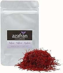 Azafran Safran Fäden, Safranfäden in Premium Qualität 5g