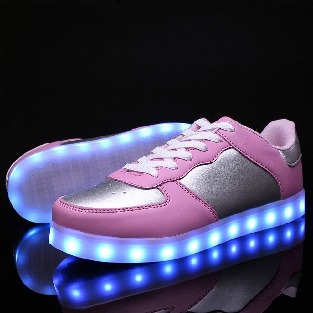 MaxTide Kids Light Up Sneakers Boys Girls Toddler Cute Casual Running Shoes