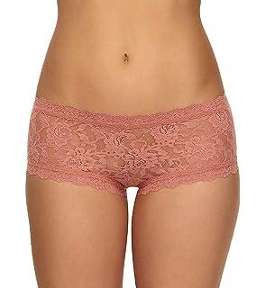 Small Pink Sands Hanky Panky Signature Lace Boyshort