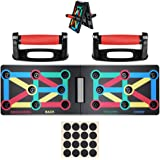Push Up Board System, 12-in-1 Body Building Exercise Tools Workout Push-up Stands, Portable Bracket Board System, for…